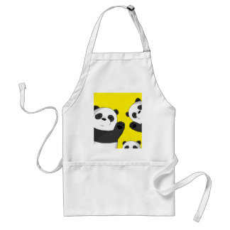 Avental Pandas bonitos