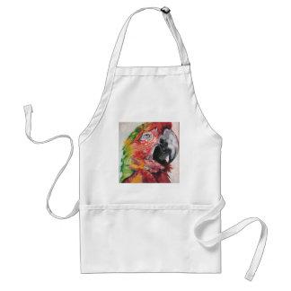 Avental Papagaio vermelho