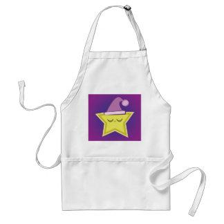 Avental pequeno sonolento da estrela