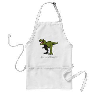 Avental personalizado de T-Rex
