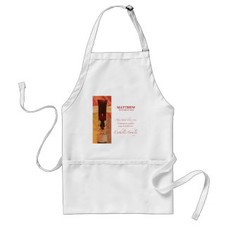 Avental Personalize, parabéns de RCIA, católico, vermelho