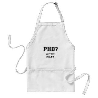 Avental PhD? Por que não PhA? Presente da graduação do PhD