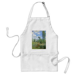 Avental Pista nos campos da papoila - Claude Monet