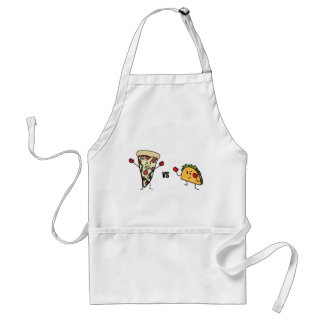 Avental Pizza de Pepperoni CONTRA o Taco: Mexicano contra