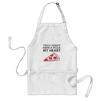 Avental Pizza meu coração