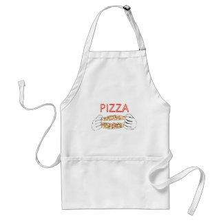 Avental Pizza saboroso dos desenhos animados e Hands3