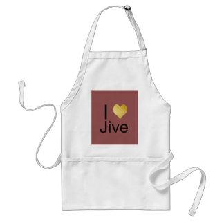 Avental Playfully o coração elegante de I Jive