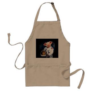 Avental Porco do astronauta - astronauta do espaço