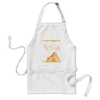 Avental Poses da ioga