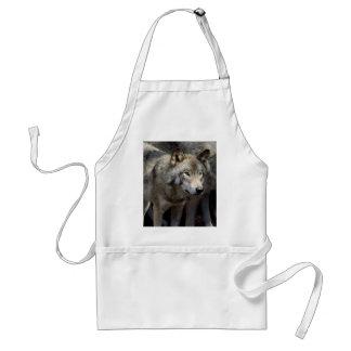 Avental Posição do lobo cinzento