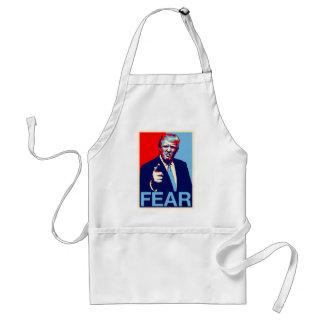 """Avental Poster 2017 da paródia do """"medo"""" de Donald Trump"""