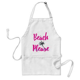 Avental praia por favor