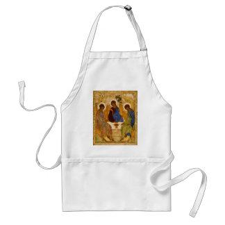 Avental Presente católico bizantino de Rublev do ícone da