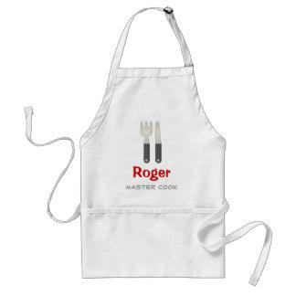 Avental Presentes legal mestres do cozinheiro |