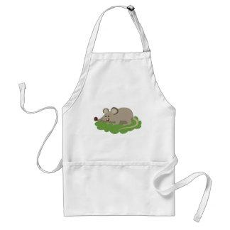 Avental rato bonito do rato