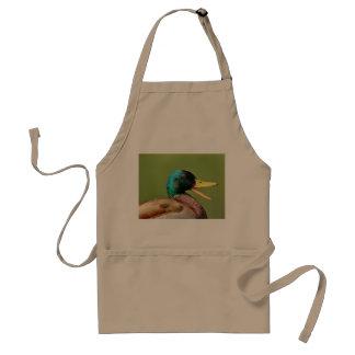 Avental retrato do pato do pato selvagem