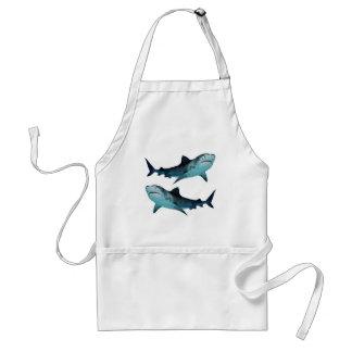 Avental Reunião do tubarão