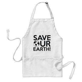 Avental Salvar nossa terra