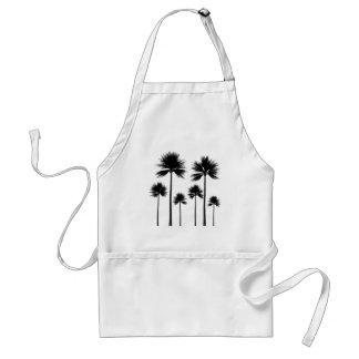 Avental Silhueta da palmeira