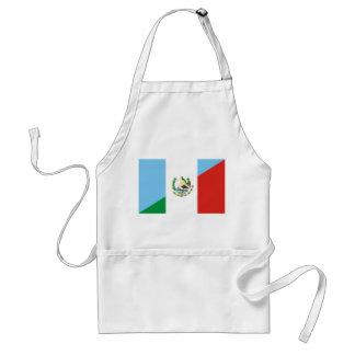 Avental símbolo da bandeira de guatemala México meio