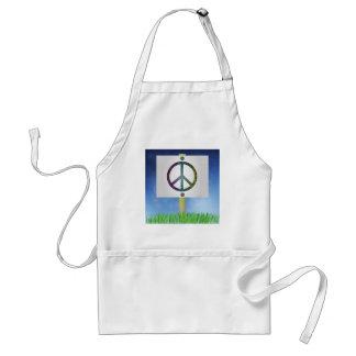 Avental símbolo de paz