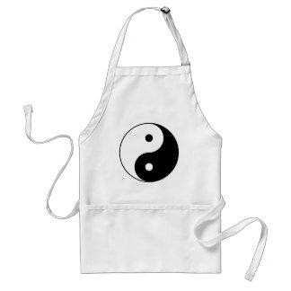 Avental Símbolo filosófico inspirador de Yin e de Yang