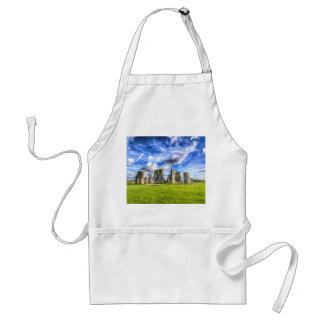 Avental Stonehenge Grâ Bretanha antiga