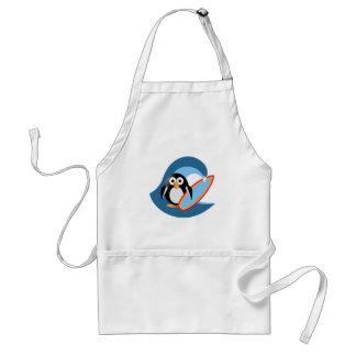 Avental Surfista do pinguim