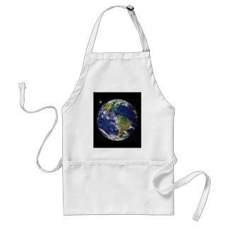 Avental Terra, como visto do espaço, em abril de 2000