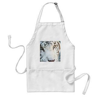 Avental Tigre branco