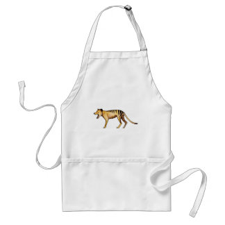 Avental Tigre tasmaniano, Thylacine