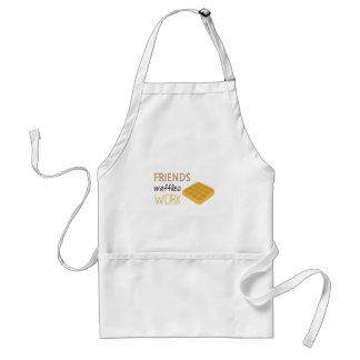 Avental Trabalho dos Waffles dos amigos