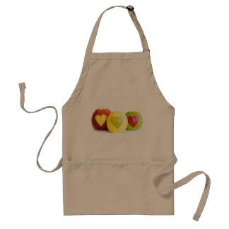 Avental Três maçãs