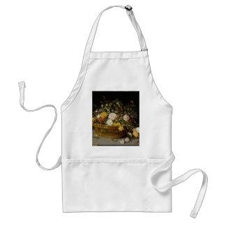 Avental Uma cesta das flores - Jan Brueghel o mais novo