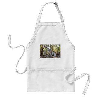 Avental Urso de Koala cinzento e branco