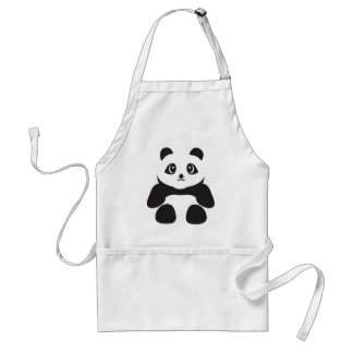 Avental Urso de panda bonito