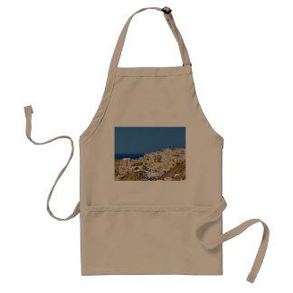 Avental Vista panorâmica de Santorini