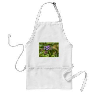 Avental Wildflowers roxos do Ageratum