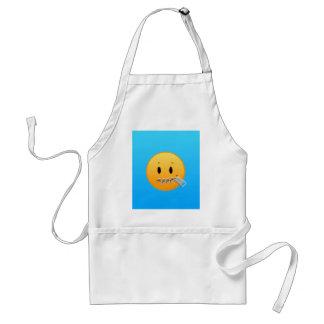 Avental Zipper Emoji
