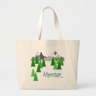 Aventura ao saco de bolsa das montanhas
