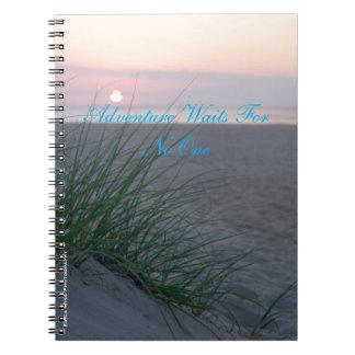 Aventura da praia cadernos espiral