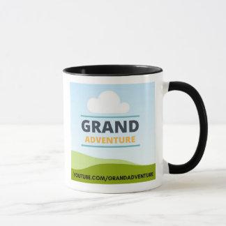 Aventura grande 11 onças. caneca de café
