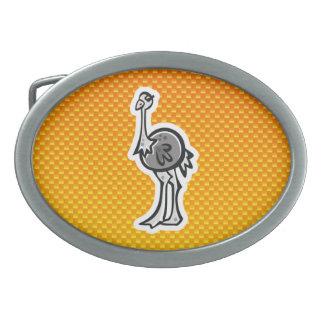 Avestruz bonito Amarelo alaranjado