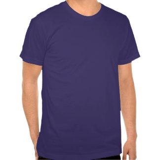 Avestruz bonito; Azul T-shirts