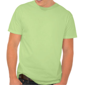 Avestruz bonito; Verde Camiseta