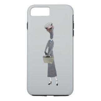 Avestruz do baby-sitter capa iPhone 7 plus
