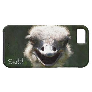 Avestruz feliz, sorriso! - Divertimento Capa Tough Para iPhone 5
