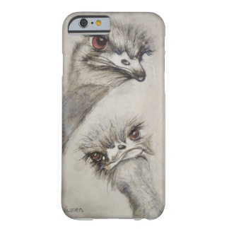 Avestruzes, pássaros, Karoo de Klein, animais, Capa Barely There Para iPhone 6
