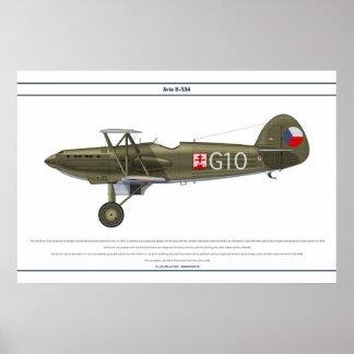 Avia B-534 Checo 5 Impressão