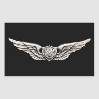 Aviação Adesivo Retângular
